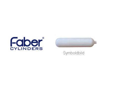 5 Liter / 200 Bar, weiß - Faber