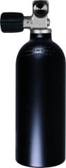 Aluminiumflasche 0,85 Liter inkl. Mono Ventil