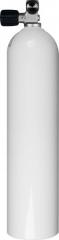 Aluminiumflasche 7 Liter inkl. Mono Ventil