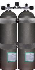 Alu Doppel 80cf (ca. 11,1 Liter) DIR Style DirtyBeast