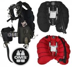 OMS Comfort Harness III Signature mit Deep Ocean Bungee Wing