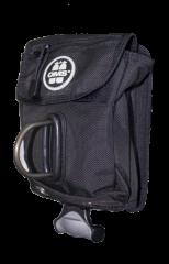 OMS Utility Pocket mit Vertical Ballast System+D-Ring (2,7kg)