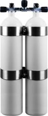 Doppel 8,5 Liter DIR Style