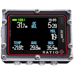 Ratio IX3M Pro Tech+ (10 Gase, CCR)