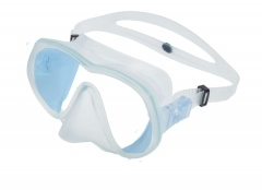 OMS Tattoo Mask Tin Blue W (western) Ultra clear lens