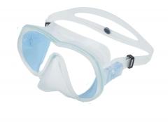 OMS Tattoo Maske Tin Blue Ultra Clear