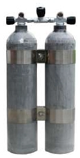 Doppel 11,1 Liter (80CF) Alu von MES - Dirty Beast