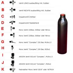 18 Liter / 230 Bar, 204 mm - ECS