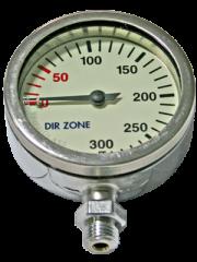 DIRZONE Finimeter 52mm 240bar Chrom