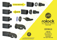 ROLOCK SYSTEM ON BLUE GLOVE – PRE-MOUNTED