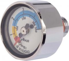 OMS Miniatur Finimeter zum Einschrauben in den HP Ausgang der 1. Stufe