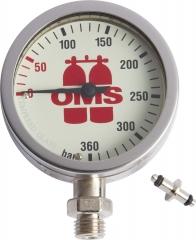 OMS Finimeter Mineralglas, 0-360 Bar oder PSI