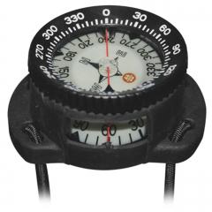 OMS Kompass mit Halterung für Handgelenk mit elastischen Gummibändern